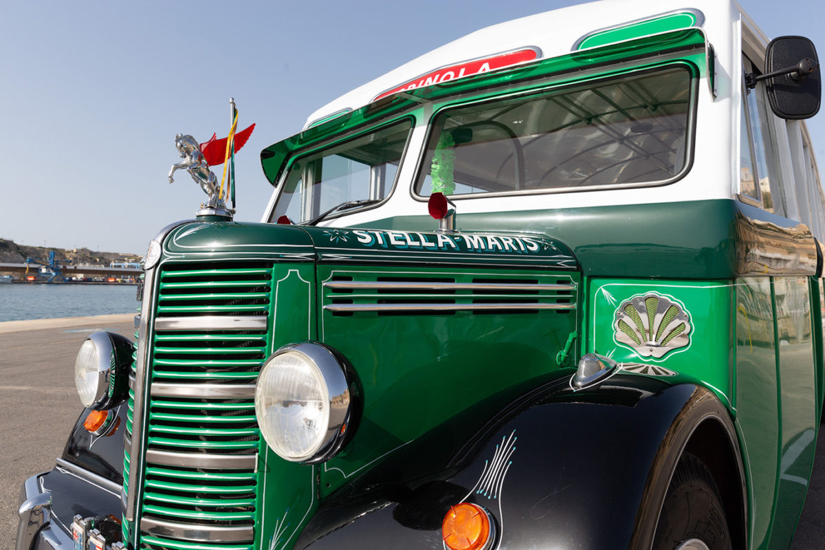koptaco vintage maltese old buses classic tourist attractions