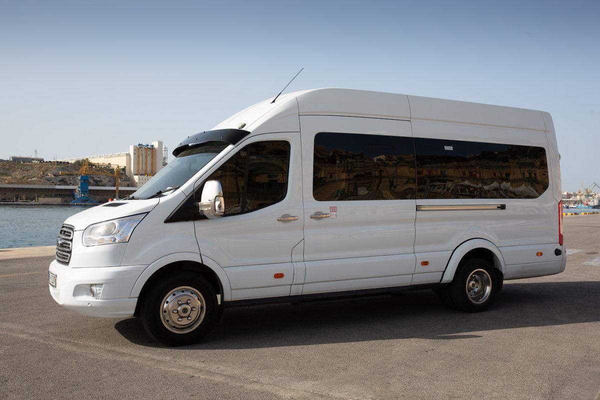 koptaco 16 seater minibus transport bus transfer tours