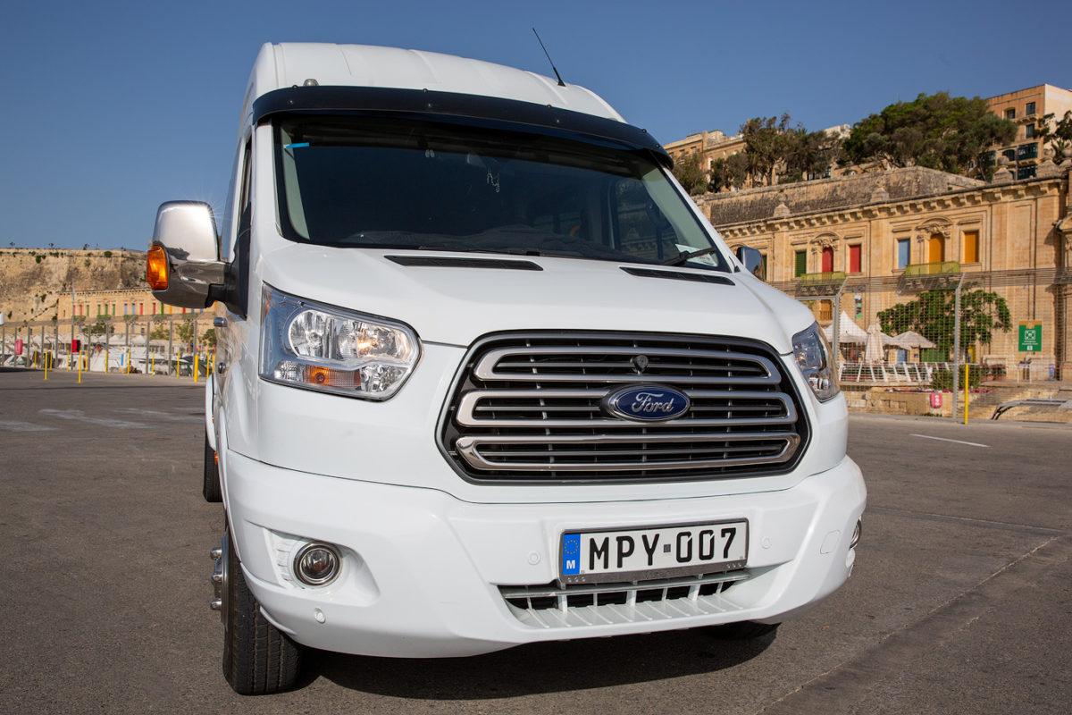 koptaco minibus 16 seater service transport in malta tours