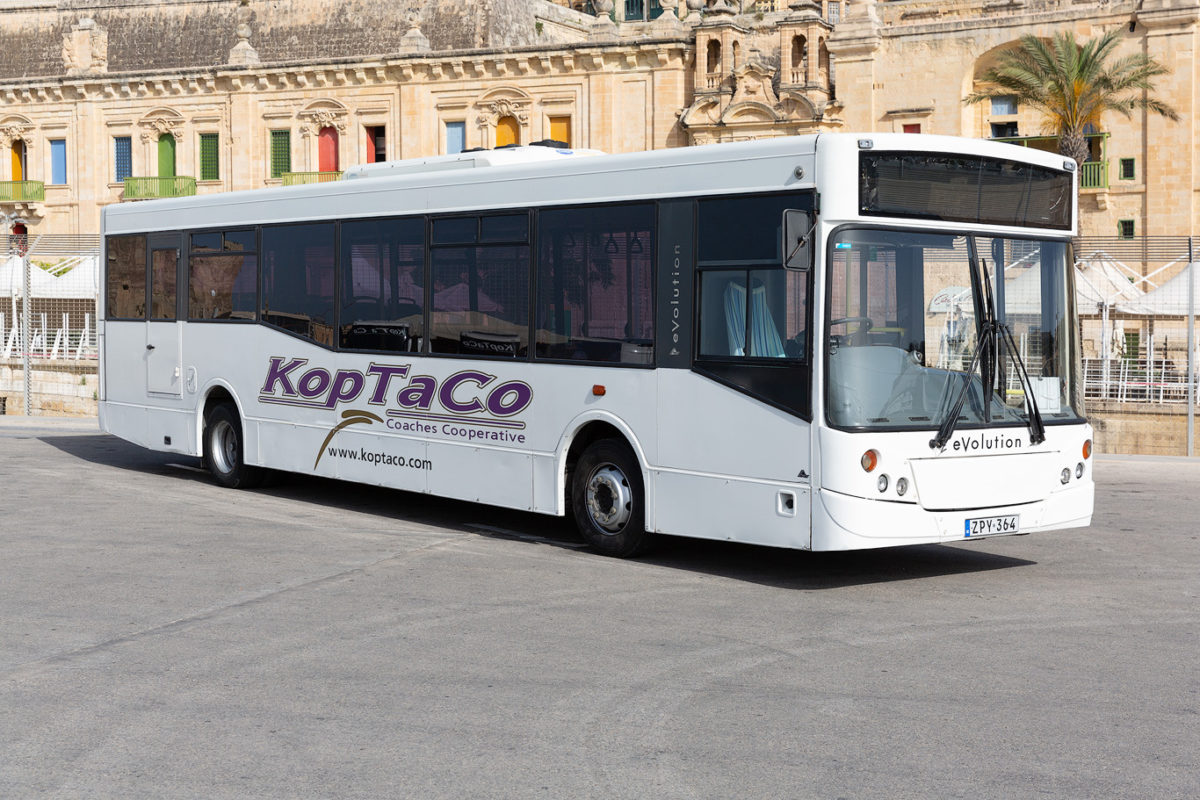 koptaco bus service weelchair accessible transport malta