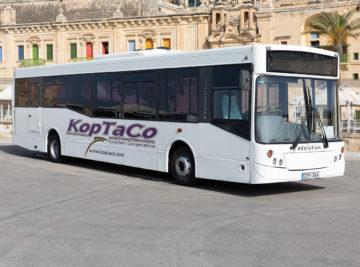 koptaco bus service weelchair accessible transport malta