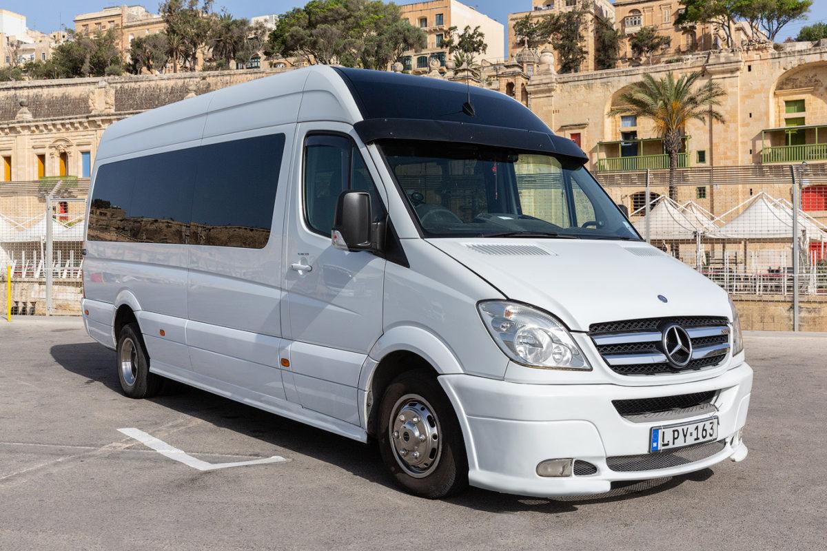 koptaco bus transport company minibus malta visit private minibus 18 seater