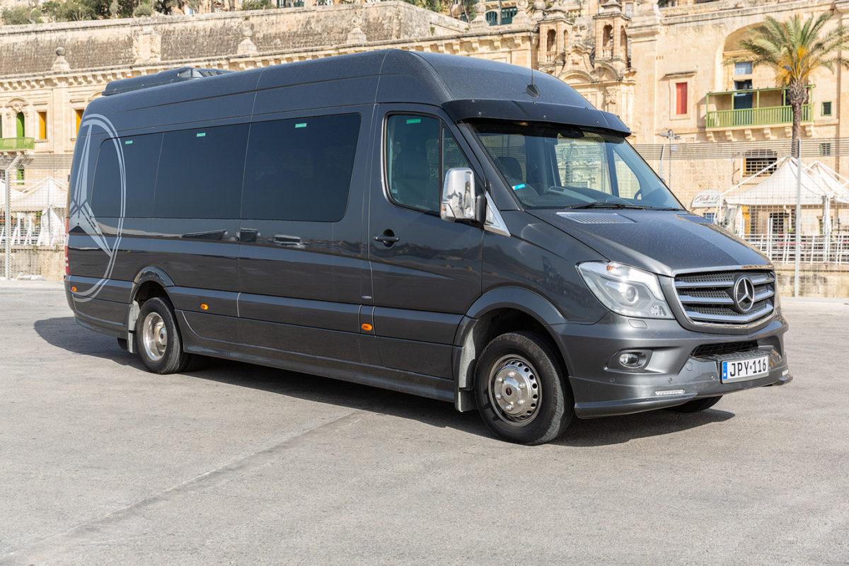 koptaco transportation company minibus 18 seatertours