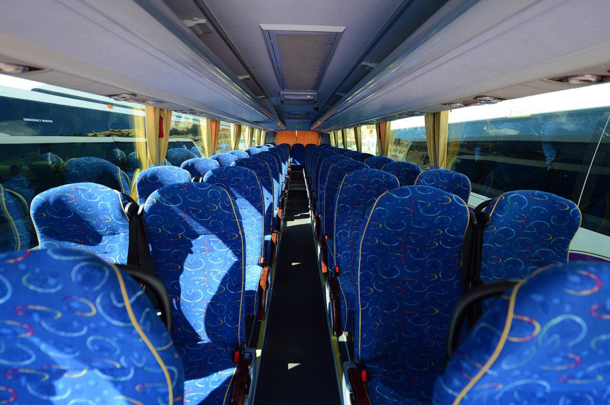 koptaco services transport bus fleet 53 seater Executive bus transportation airport