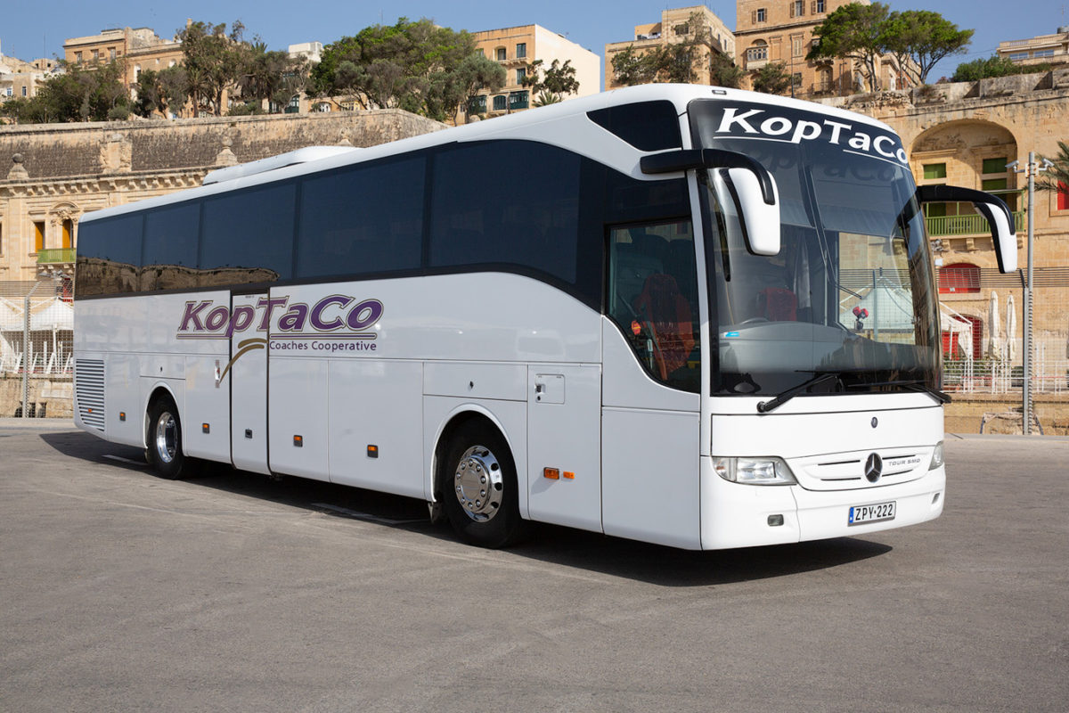 koptaco services transport 53 seater Executive bus
