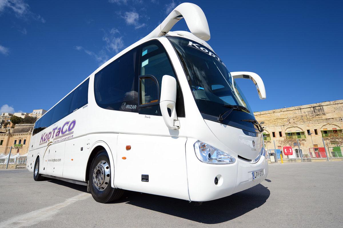 koptaco services bus 53 seater transport airport transfers