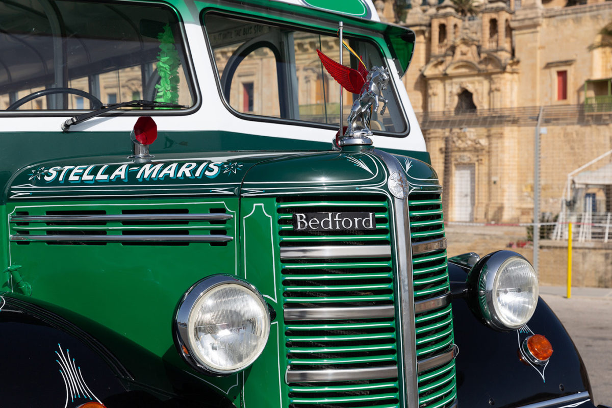 koptaco hire vintage classic buses malta tourism