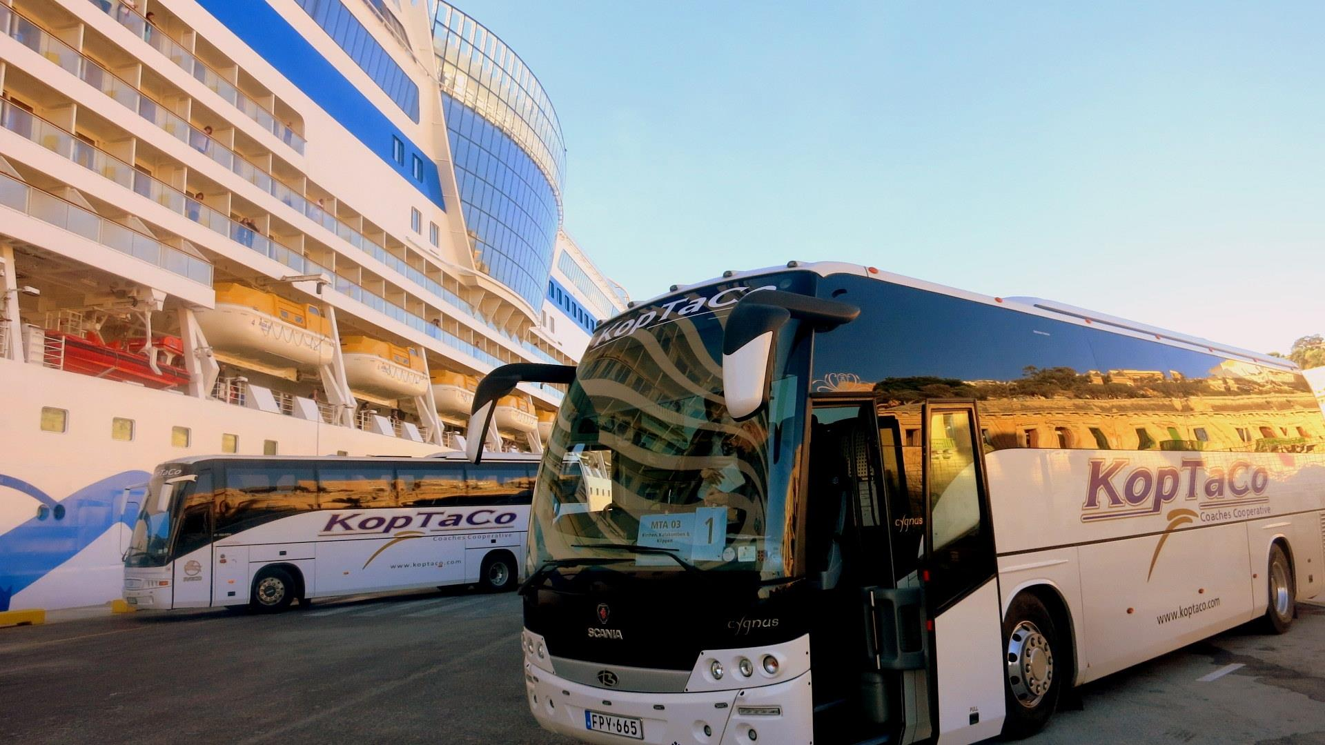 koptaco transport company cruise bus transfers tours