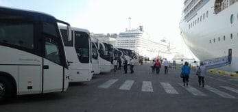 koptaco cruise liner transportation minibus transfers tours