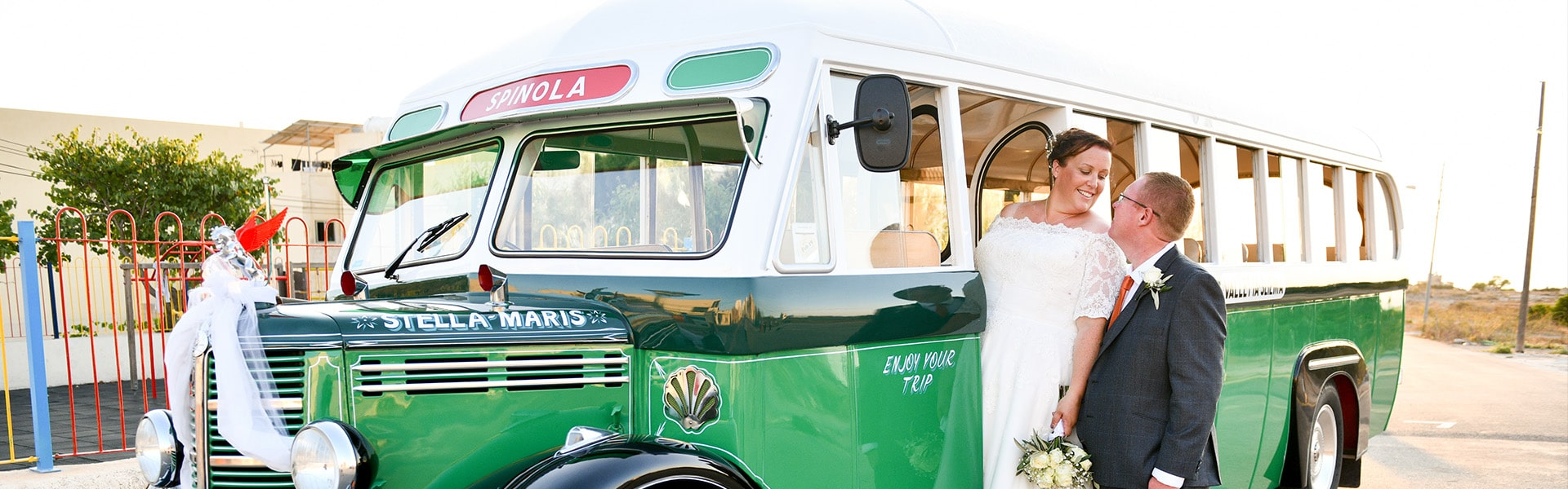 koptaco coaches cooperative malta vintage bus wedding