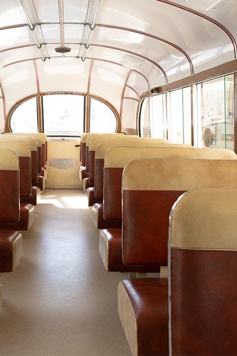 koptaco transportation company malta gozo vintage classic bus