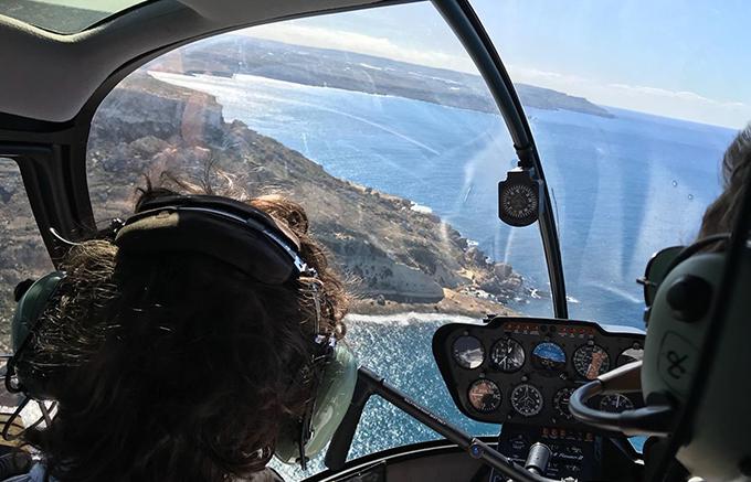 koptaco malta tours helicopter
