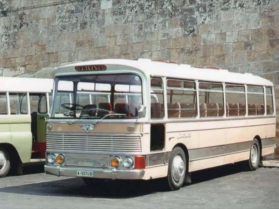 vintage maltese bus koptaco history transportation services malta
