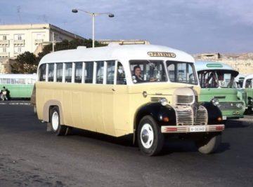 koptaco transportation malta history vintage bus